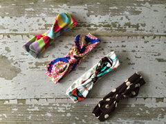 4 Colors to Choose From Baby Knot Headbands