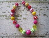 Fun Times Chunky Bead Necklace