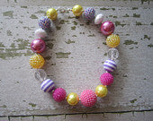 Girly Girl Chunky Bead Necklace
