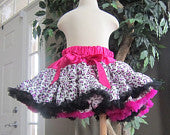 Hot Pink and Leopard Pettiskirt