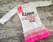 Kisses 25 cents Tunic with Bow