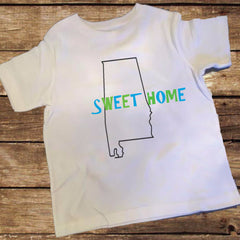 Alabama Sweet Home Boys Shirt