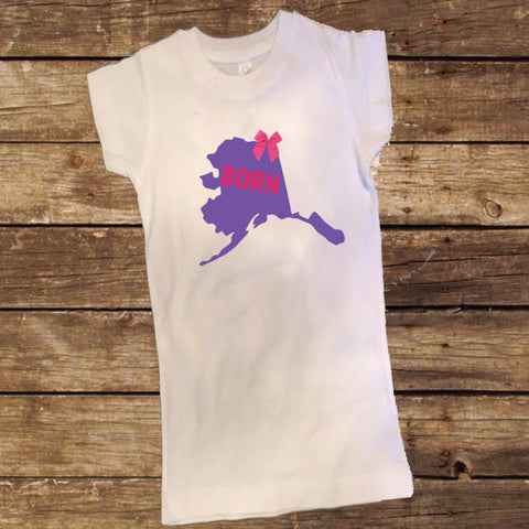 Alaska Born Shirt with Bow
