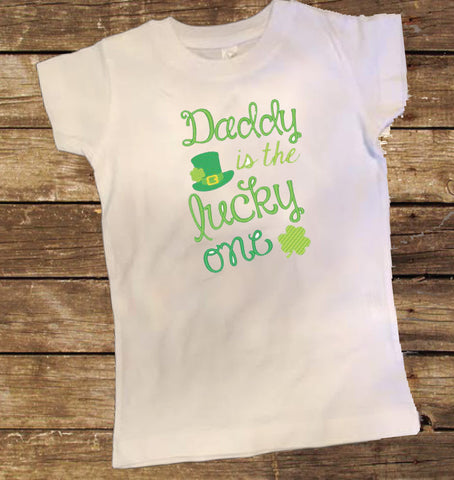 Daddy is the Lucky One St. Patrick's Day Shirt