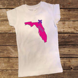 Florida Born Shirt with Bow