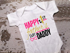 Happy 1st Fathers Day Shirt