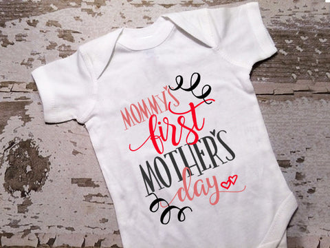 Mommy's First Mothers Day Shirt