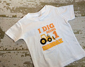 Personalized Construction Birthday Shirt