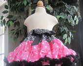 Pink Minnie Mouse Inspired Pettiskirt