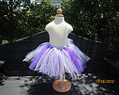 Purplicious Tutu with Ribbon Accents