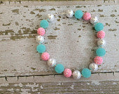 Sheriff Callie and Big Sister Inspired Chunky Bead Necklace