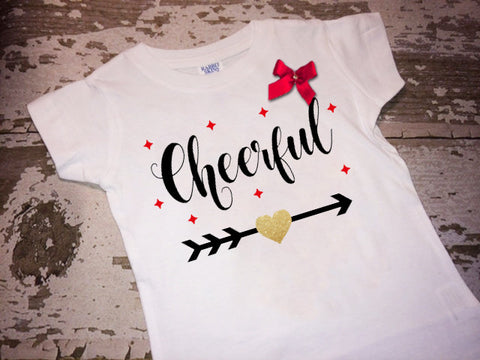 Cheerful Shirt with Bow