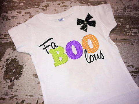 Fa-Boo-lous Shirt with Bow
