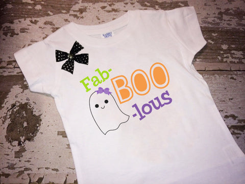 Fab-Boo-Lous Shirt with Bow