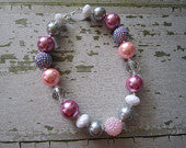Sweet Princess Chunky Bead Necklace