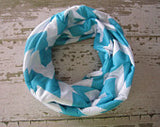 Chevron Jersey Toddler Infinity Scarf - Multiple Colors