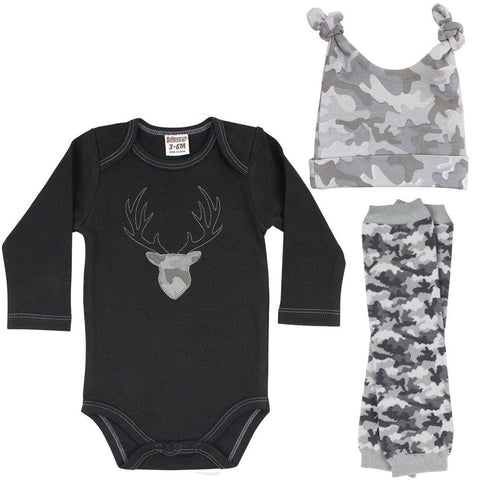 Buck Onesie, Legwarmers and Hat Set