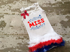 Future Miss America Tunic with Bow