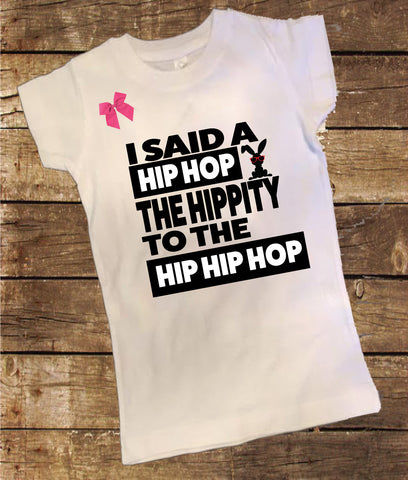 Hippy to the Hop Shirt with Bow