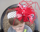 OTT True Minnie Mouse Inspired Red Bow