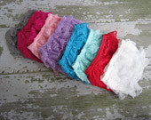 Pick Your Color Lace Ruffle Bloomers