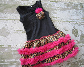 Ultimate Cheetah Diva Pettiskirt Dress
