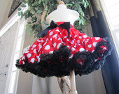Minnie Mouse Inspired Pettiskirt