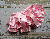 Sweetest Pink Ruffle Bloomers