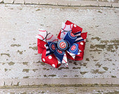 Chicago Cubs Boutique Bow