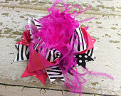 Pink Zebra Boutique OTT Bow