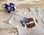 Dallas Cowboys Shirt and Hairbow Set