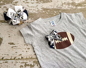 St. Louis Rams Shirt and Hairbow Set