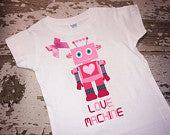 Love Machine Shirt with Bow