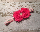 Heart Valentines Headband