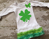 Shamrock Tunic with Bow