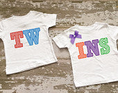 TWINS Boy/Girl Shirt Set