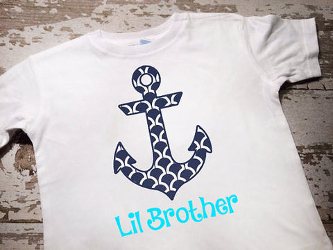 Little Brother Anchor Shirt