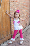 Mylania Jane Pink and White Summer Outfit
