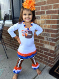 Chicago Bears Football Tunic and Legwarmers