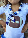 Indianapolis Colts Football Tunic and Necklace