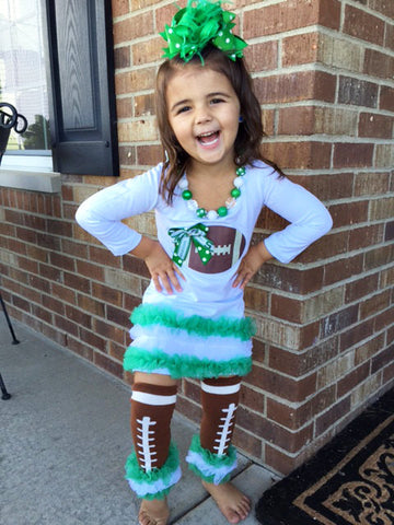 Michigan State Spartans Football Tunic and Hairbow
