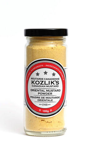Hot Oriental Mustard Powder