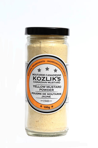 Mild Yellow Mustard Powder