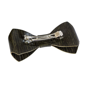 Wooden Hair Barrette - Black Oak - Bug Wooden Accessories