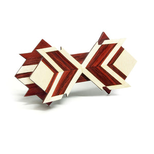 Wooden Bow Tie - Eighteen - Bug Wooden Accessories - 1