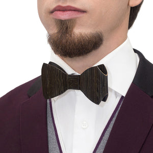 Bow Tie - Black Oak - Bug Wooden Accessories - 1