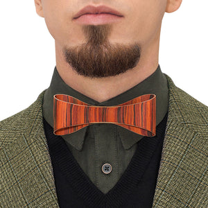 Classic Bow Tie - Rosewood - Bug Wooden Accessories - 1
