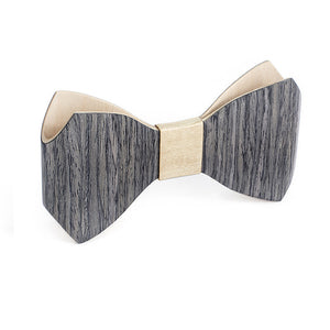 Bow Tie - Grey Oak