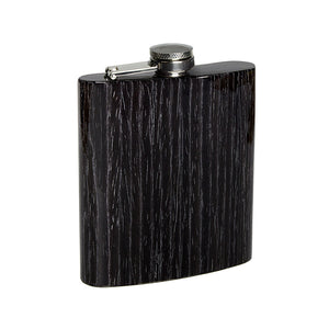 Wooden Flask - Black Oak - Bug Wooden Accessories - 1