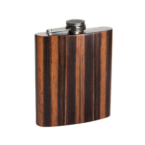 Wooden Flask - Ebony